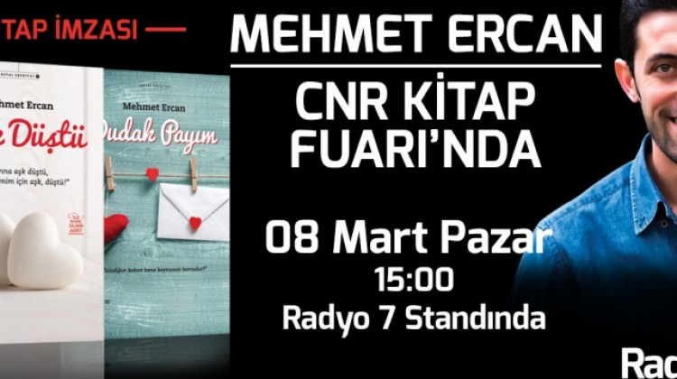 Mehmet Ercan CNR Kitap Fuarı'nda
