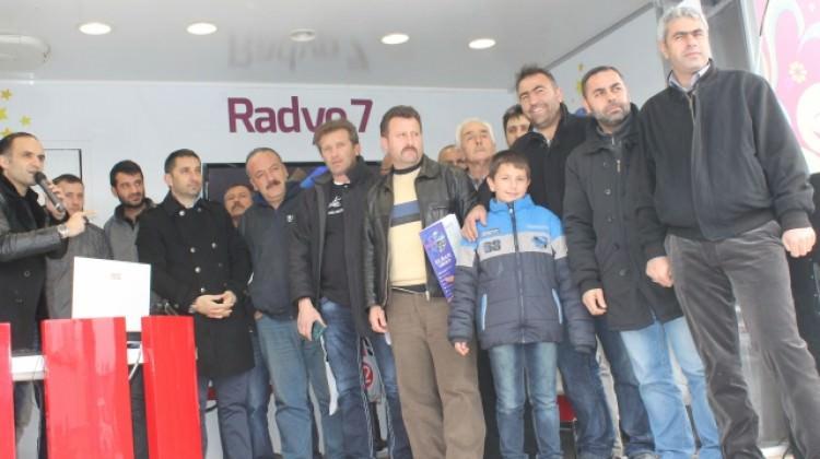 Radyo 7 Uluslararası Tır Şoförlerini Yalnız Bırakmadı