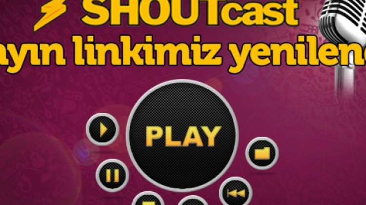 Radyo 7 Shoutcast Yayın Linki Yenilendi