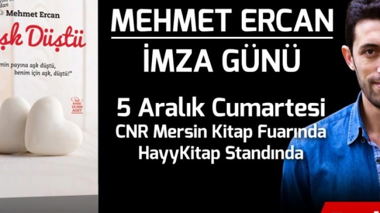 Mehmet Ercan CNR Mersin Kitap Fuarında