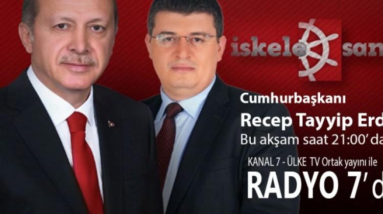 Cumhurbaşkanımız Radyo 7' de