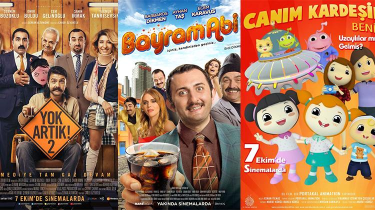 07 Ekim 2016'da Vizyona Giren Filmler