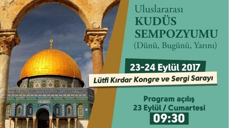 İstanbul'da Uluslararası Kudüs Sempozyumu