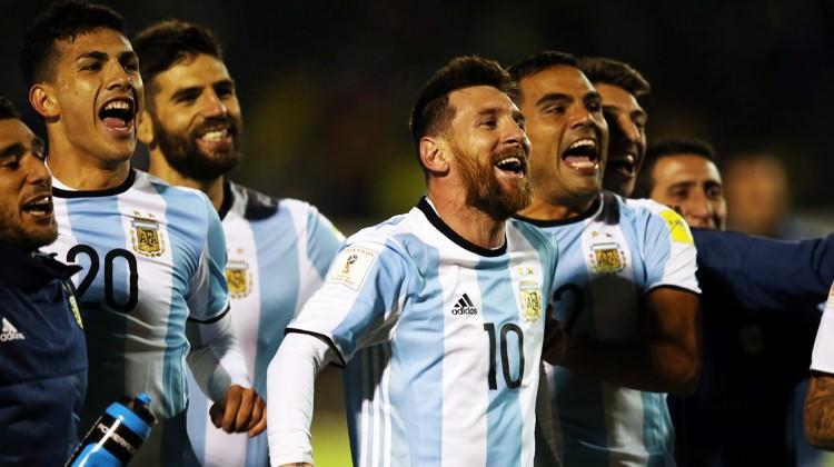 Messi, Arjantin'i Dünya Kupası'na taşıdı!