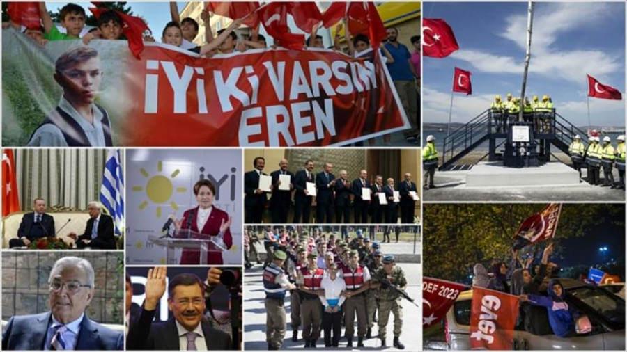 Çoğu unutuldu bile...                 Türkiye'de 2017 böyle geçti...