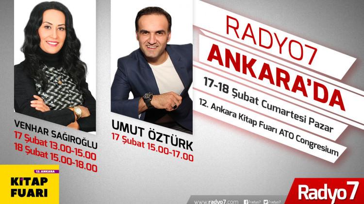 Radyo 7 12. Ankara Kitap Fuarı'nda