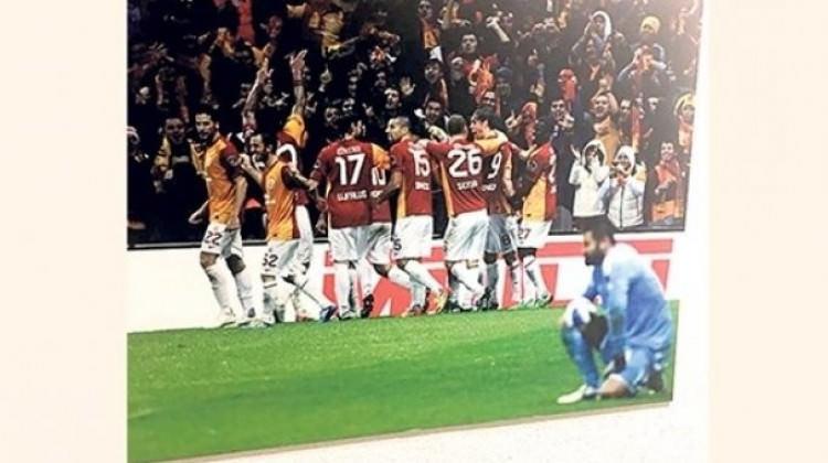Galatasaray müzesinde Volkan Demirel'e gönderme!
