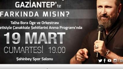 TALHA BORA ÖGE nam-ı diğer GÖLGE  Gaziantep'te