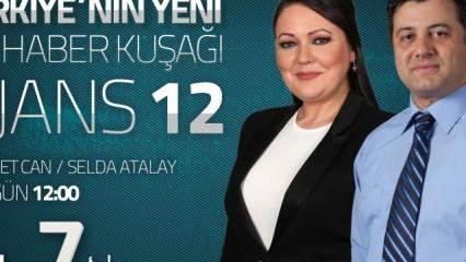 Türkiye'nin Haber Kuşağı ''Ajans 12'' Radyo 7'de