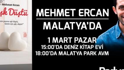 Mehmet Ercan Malatya'da