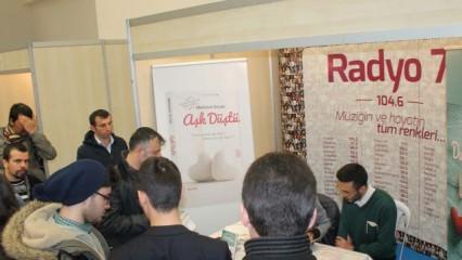 Mehmet Ercan Ankara Kitap Fuarı'ndaydı