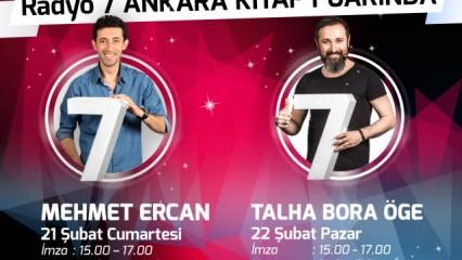 Radyo 7 Ankara Kitap Fuarı'nda