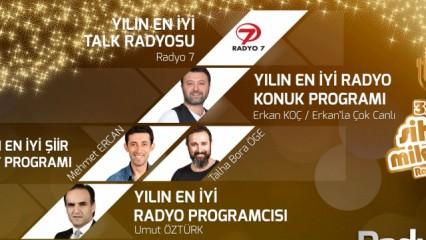 Radyo 7 Sihirli Mikrofon'a Dört Kategoride Aday