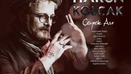 Harun Kolçak'tan çeyrek asra özel albüm