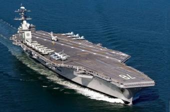 1. USS Gerald Ford  Fiyatı: 13 milyar dolar Dünyanın en pahalı askeri aracı 337.10 metre uzunluğuyla adeta yüzen bir kent olan USS Gerald Ford uçak gemisi.