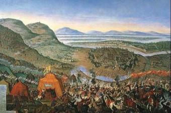 Viyana Kuşatması - 27 Eylül-16 Ekim 1529 Kanuni Sultan Süleyman'ın Avrupa'ya korku saldığı kuşatmadır. Osmanlı topçuları, 17 gün boyunca Viyana surlarını dövmüş ve büyük tahribat vermiştir.
