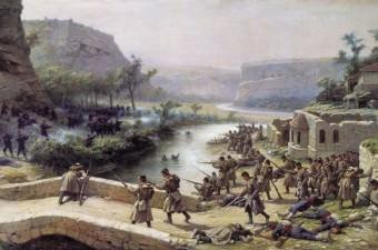 Ancak Osmanlı Devleti'nin içinde bulunduğu durumdan dolayı hiç destek kuvvet alamamış ve Ruslara esir düşmüştür. Bunun ardından Plevne'de Rusların eline geçmiştir