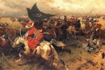 Niğbolu Savaşı - 23 Eylül 1396 120 bin kişilik bir güçle Niğbolu Kalesi'ni kuşatan Haçlılar ile Yıldırım Beyazıd liderliğindeki Osmanlı ordusu arasında gerçekleşen savaşın sonunda Osmanlı orduları, Haçlıları bozguna uğratmıştır.