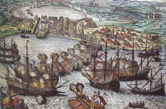 Preveze Deniz Savaşı - 28 Eylül 1538 Kaptan-ı Derya Barbaros Hayreddin Paşa'nın, 300 gemi ve 60 bin askerden oluşan Haçlılar'ı hezimete uğrattığı destansı bir zaferdir.