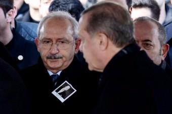 Cumhurbaşkanı Recep Tayyip Erdoğan, işadamı Mustafa Koç'un cenazesine katıldı.  Fotoğraf: İsmail Coşkun