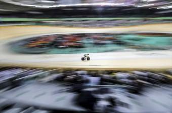 Brezilya'nın Rio De Janeiro kentinde düzenlenen 2016 Yaz Olimpiyat Oyunlarında salon bisikleti erkekler omnium sprintte elemeler yapıldı.