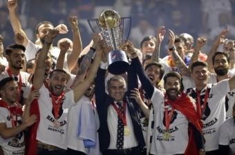 Spor Toto Süper Lig'de 2015-2016 sezonunu şampiyon tamamlayan Beşiktaş, kupasını Vodafone Arena`da düzenlenen törenle aldı.  Fotoğraf: Mehmet Şirin Topaloğlu