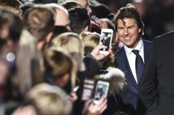 """Tom Cruise'un başrolde oynadığı """"Jack Reacher: Asla Geri Dönme"""" filminin Berlin Galası CineStar Sony Center'da yapıldı."""