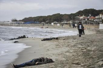 Balıkesir'in Ayvalık ilçesine bağlı Altınova Mahallesi açıklarında göçmenleri taşıyan botun batması sonucu 24 kişi yaşamını yitirdi.