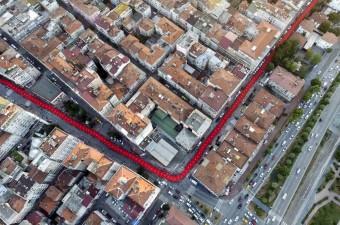 Samsun'da Fetullahçı Terör Örgütü'nün (FETÖ) darbe girişimine tepki amacıyla 1919 metre uzunluğundaki bayrak ile yapılan yürüyüşe 20 bin kişi katıldı.