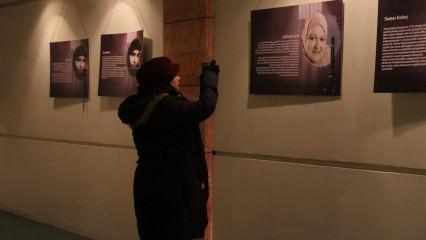 Suriye'nin Kayıp Kadınları Sergisi Açıldı