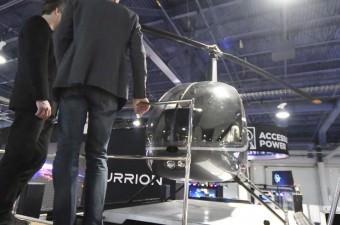 İçinde bir helikopter de barındıran bu ilginç aracın şoför koltuğu ve yan koltuğu bir uzay üssü gibi.