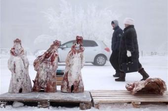 Eksi 64 derecede hayat  Rusya'da dondurucu soğuğun hayatı etkilemediği bir şehir var. 'Dünyanın en soğuk kenti' unvanına sahip olan Yakutsk kenti.