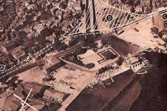 68. Sinanpaşa Camii'nin arkasından geçirilecek yolun planlaması. Ancak yol yapılmadı. (1957. Beşiktaş)