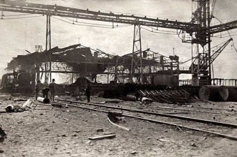81. Sabotaj sonrası Haydarpaşa (1918)