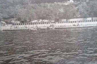 58. Salacak Plajı yol yapım çalışmaları ile yıkılıyor. (1965. Üsküdar)