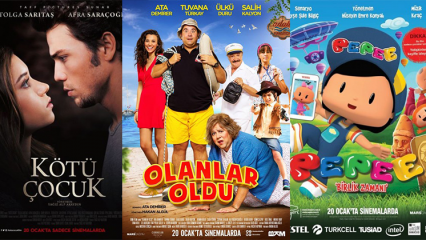20 Ocak 2017'da Vizyona Giren Filmler