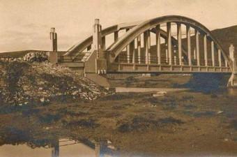 106. Silahtarağa Demiryolu Köprüsü. Günümüzde Fil Köprüsü olarak biliniyor.