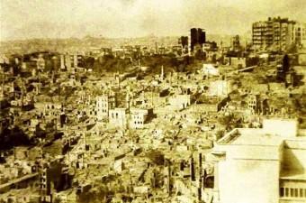 117. Pera'da yangın. Alman Elçiliği ile İtayan Hastanesi arasında yaklaşık 1.000 ev kül oldu (26 Temmuz 1915)