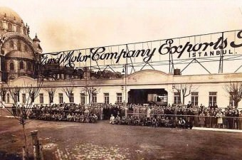 10. Tophane'deki Ford Fabrikası.