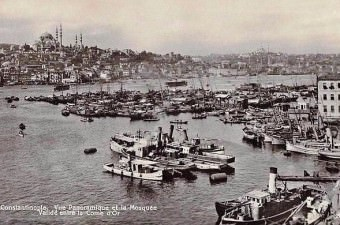 98. Karaköy'den Süleymaniye ve Yavuz Selim'e bakış (1910'lu yıllar