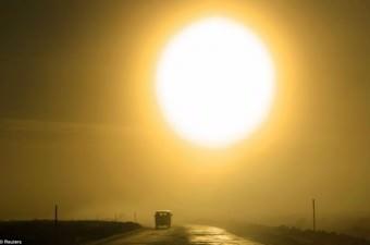 Oymyakon'da kışın güneş yalnızca 3 saat gökyüzünde kalıyor.