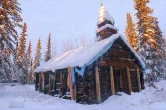 Snag Kanada'daki Snag kasabasında ortalama sıcaklık -30'larda