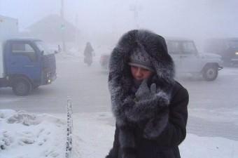 Yakutsk  Yakuti'nin, Sibarya'nın ve Dünya'nın en soğuk şehri olan Yakutsk'un ortalama sıcaklığı -50°