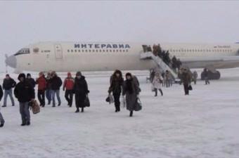 Verkhoyansk Yakutsk'a 8 gün mesafede olan Verkhoyansk şehrinin sıcaklığı; ortalama -49 °C.