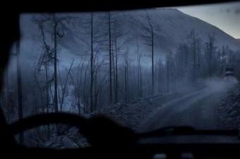 Garaj dışına çıkan araçlar, durmadan yollarına devam etmek zorunda. Çünkü aracınızı durdurursanız, muhtemelen soğuk nedeniyle tekrar çalıştıramazsınız.