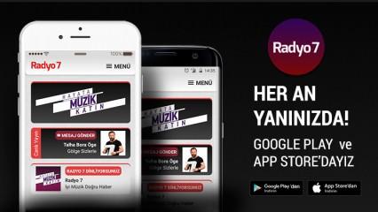Radyo 7' nin Iphone, Ipad ve Android yazılımlarımız yenilendi