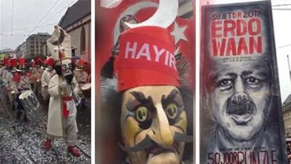 Türkiye karşıtı çirkin gösteri