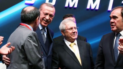 Aziz Yıldırım'ın Erdoğan'ı güldüren o sözü!