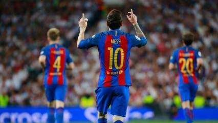 Lionel Messi Bernabeu'yu yaktı!