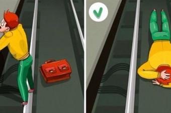 Metroya düşerseniz ne yapmanız lazım?   Böyle bir olay karşısında izlemeniz gereken birkaç yol var.
